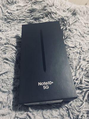 Sealed Samsung Galaxy Note10+ 5G 256 GB Unlocked for Sale in Malden, MA