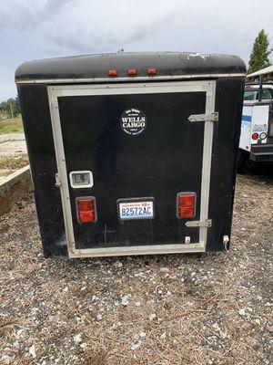 Wells cargo trailer for Sale in Ridgefield, WA