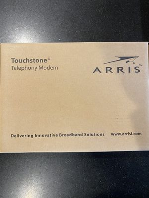 Arris TM822G 8x4 DOCSIS 3.0 Telephony Modem for Sale in Bellevue, WA