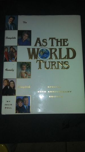 As The World Turns- The Complete Family Scrapbook for Sale in Sacramento, CA