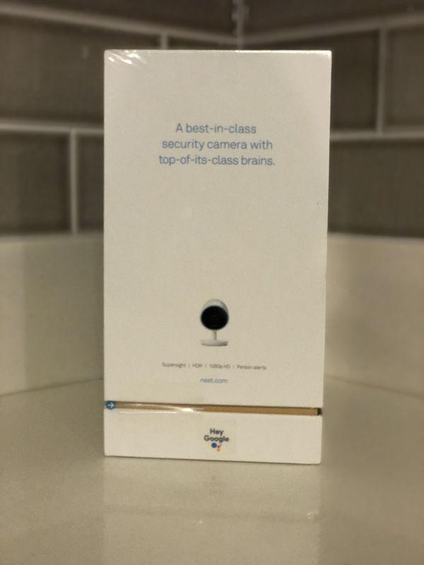 Nest Cam Indoor Security Camera 2pack