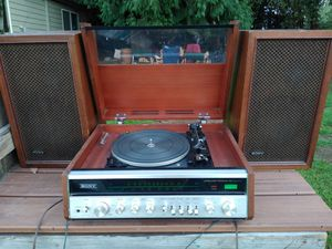 Rare 1973 Sony hp-610 stereo system/record player + speakers for Sale in Boring, OR