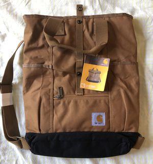 New Carhartt Unisex Brown Canvas Hybrid Backpack Tote Bag Legacy Series for Sale in Santa Clarita, CA