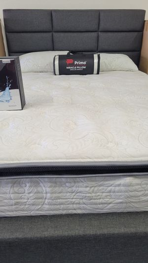 Brand New Plush Orthopedic Pillowtop Mattress With Lumbar Gel Support - Twin Full and Queen Bed In A Box 📦 for Sale in Spring Valley, CA