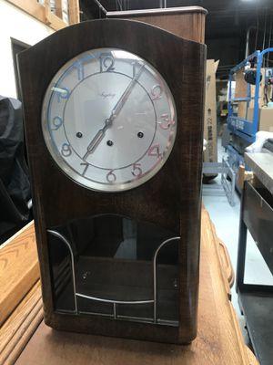 Antique German Art Deco wall clock by in Ingeborg for Sale in Burien, WA
