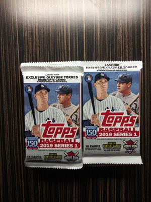 Topps Baseball Card Packs for Sale in Claremont, CA