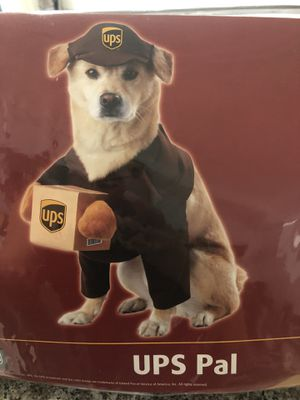 UPS Medium Dog Costume for Sale in Westminster, CA