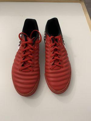 Nike Tiempo X Indoor soccer shoes - Men's Sz -7.5 for Sale in Portland, OR