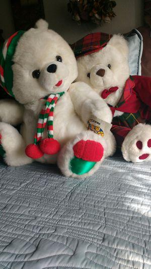 Christmas teddy bears for Sale in Glendora, CA