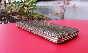 Gold Hard Clutch Wallet for Sale in Lacey, WA