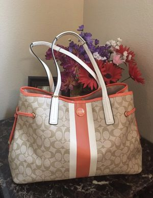 Coach Signature PVC Carryall for Sale in Colorado Springs, CO