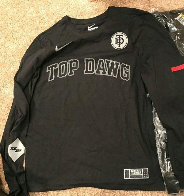 655966f5 Nike X TDE Top Dawg Damn Kendrick Long Sleeve tee medium for Sale in ...