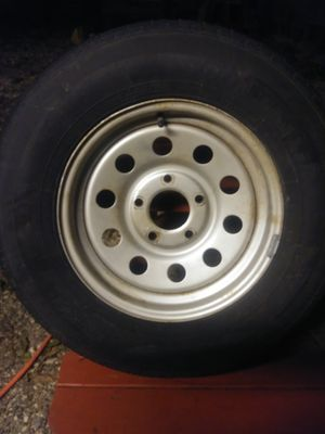 One trailers ST205/75R15 tire for Sale in San Antonio, TX