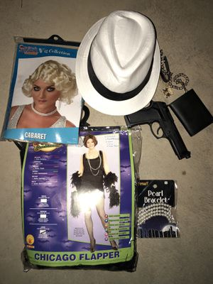 Roaring 20's Couples Costume Halloween for Sale in Kennesaw, GA
