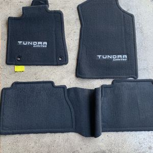 NEW! Toyota Tundra OEM Limited CrewMax Carpet Floor Mat Set 2014-2020 for Sale in Henderson, NV