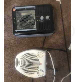 2 space heaters for Sale in Kalamazoo, MI