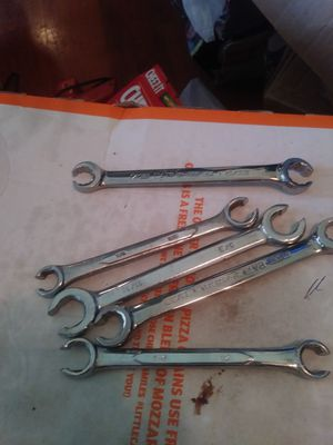 5 LINE WRENCHES SAE SIZES for Sale in Columbus, OH