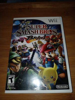 Super Smash Bros Brawl ( Nintendo Wii) for Sale in Oshkosh, WI