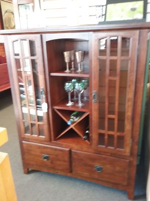 Lighted Curio Breakfront $275 for Sale in Hatboro, PA