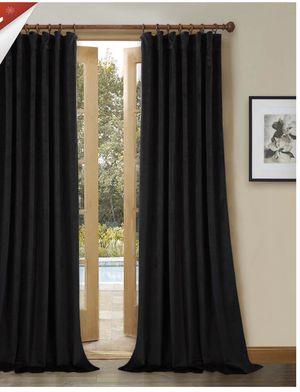 Black Velvet Curtains for Sale in Fresno, CA