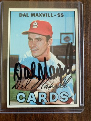 Dal Maxvill Autograph baseball card for Sale in Berkeley, MO