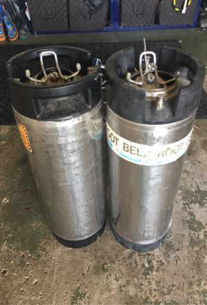 Stainless steel 5 gallon Corney kegs. $50 each. for Sale in Columbus, OH