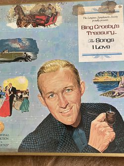 Bing Crosby- 6 record Set Of His Greatest Hits - In Original Box for Sale in Fresno,  CA