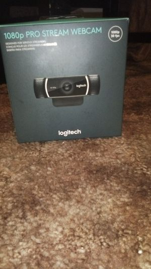 Logitech pro stream camera for Sale in Visalia, CA