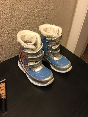 Little Girl Frozen Boots for Sale in Akron, OH