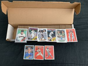 1988 Topps Set GREAT condition 500+ cards Mattingly McGuire Ripken for Sale in Hanover, MD