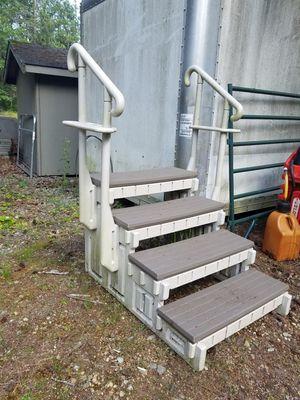 Steps for hot tub or Swim Spa $25 Obo for Sale in Graham, WA