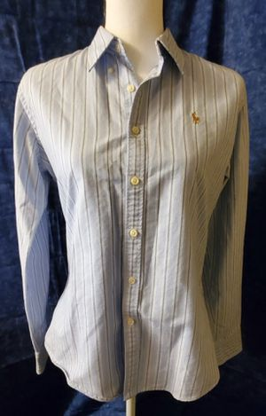 Striped Knit Oxford Shirt for Sale in Ripley, WV