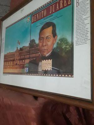 Benito Juarez Hispanic Heritage Month $15.00 cash only for Sale in Dallas, TX