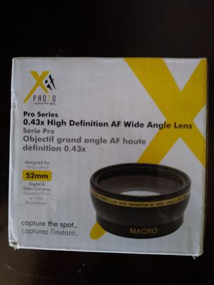 Camera Lens for Sale in Seattle, WA