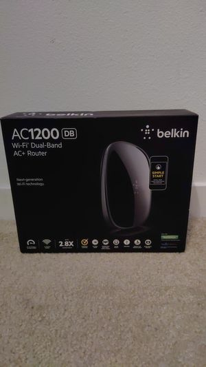 Belkin AC1200DB Router - New for Sale in Los Angeles, CA