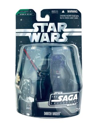 NEW on CARD Star Wars SAGA COLLECTION Darth Vader Figure Collectible Toy $10 Shipping offered. for Sale in Burrillville, RI