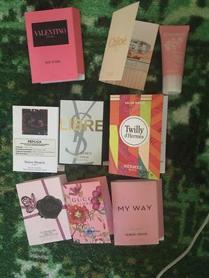 Women's 9 piece perfume sampler for Sale in Gaithersburg, MD