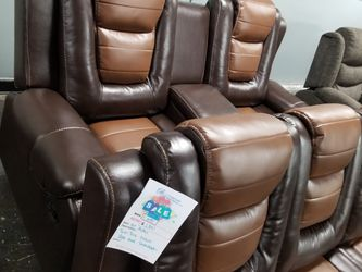 🔥LEATHER RECLINING SOFA AND LOVESEAT for Sale in McKinney,  TX