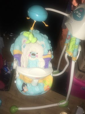 Baby swing musical for Sale in Arlington, TX