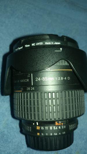 Nikon Af Nikkor 24-85mm 1:2.8-4D lense for Sale in Santa Ana, CA