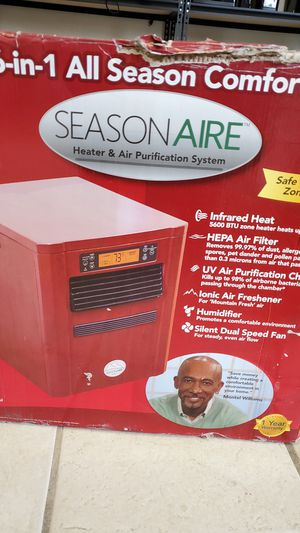 Pureheat 6-in-1 Heater, Air Purifier & Humidifier for Sale in Detroit, MI