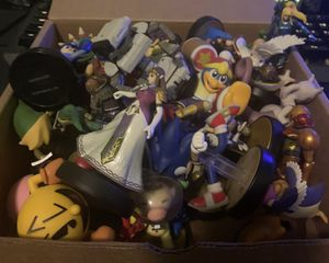 Nintendo Super Smash Bros Amiibos Lot for Sale in Channelview, TX