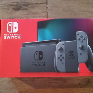 Nintendo Switch Console Black And Grey Includes Receipt for Sale in Scottsdale, AZ