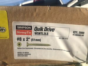 """Gun nails Simpson strong tie 8x2""""-51mm for Sale in Corona, CA"""