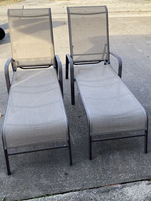 Pool lounge foldable chair for Sale in Plano, TX