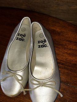 Girls Shoes Size 13 Silver for Sale in Venus,  TX