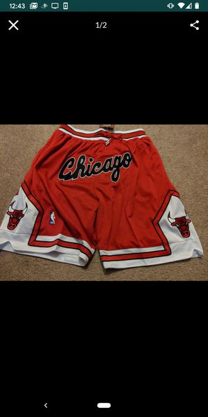 Chicago Bulls Just Don shorts for Sale in Los Angeles, CA