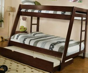 Bunk Beds Twin Over Full - $32/month for Sale in Englewood, CO