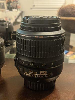 Nikon d3100 with LENSES for Sale in San Antonio, TX