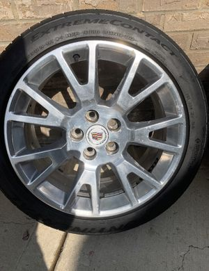 Cadilliac CTS Rims and tires $200 for Sale in Schaumburg, IL